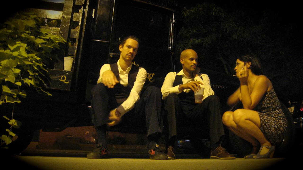 Darwin, Greg, and Tess. Brooklyn, NY