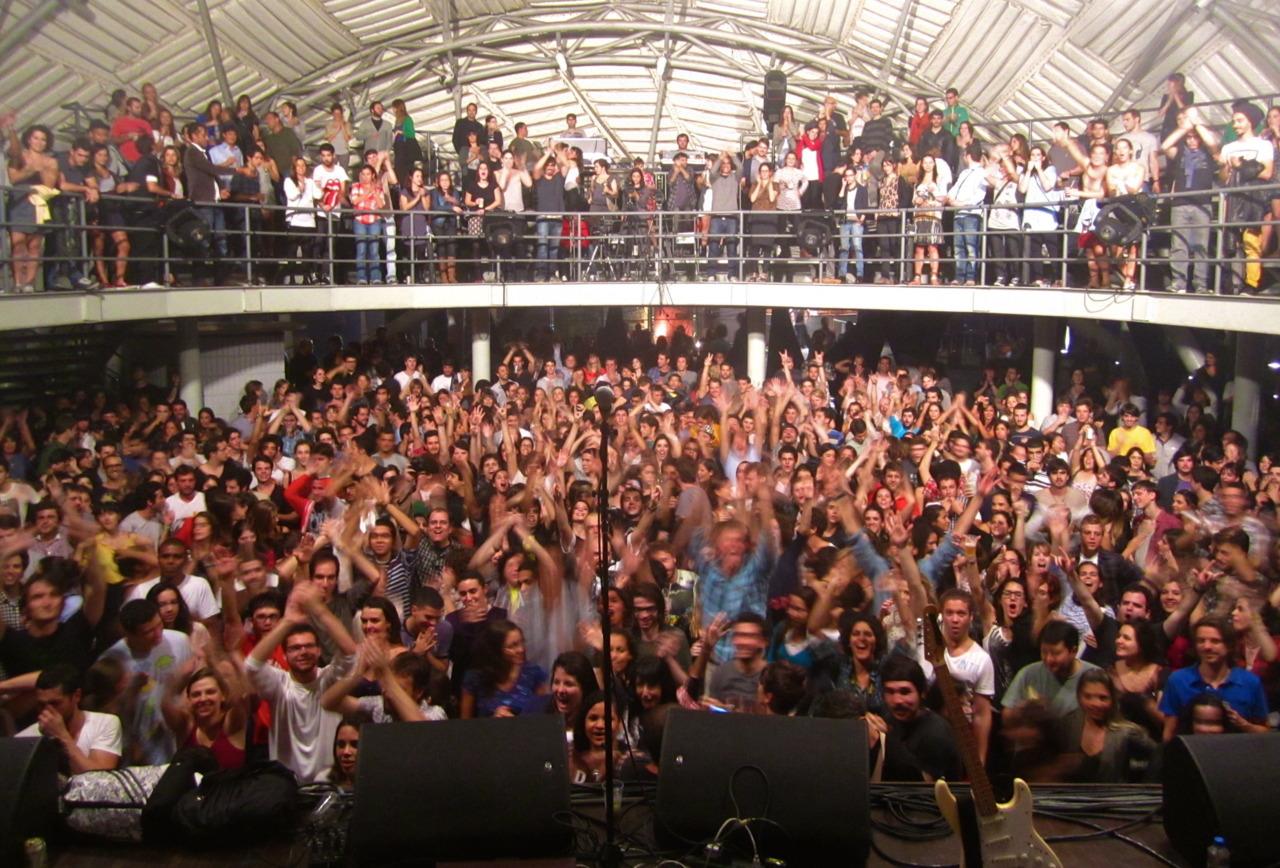 Audience, Circo Voador. Rio de Janeiro, BR