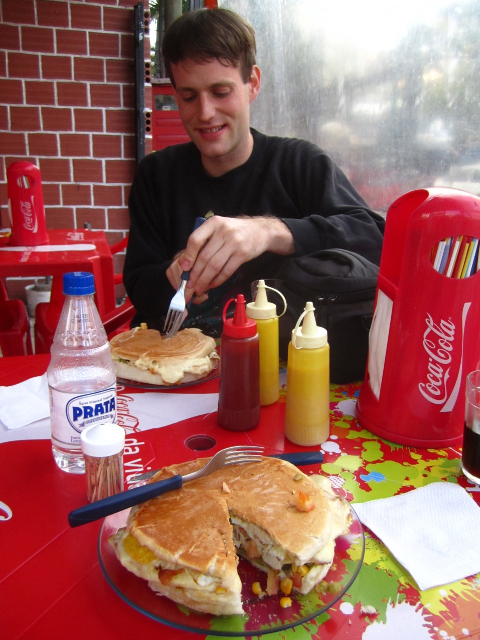 Andrew v. circular sandwich. Porto Alegre, BR