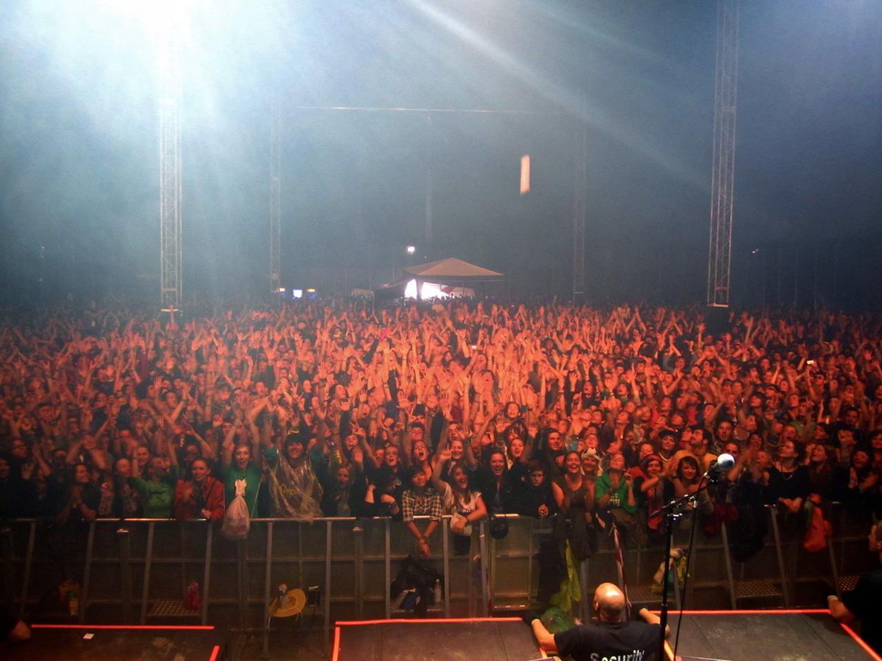 Audience, Southside Festival.Neuhausen ob.Eck, DE