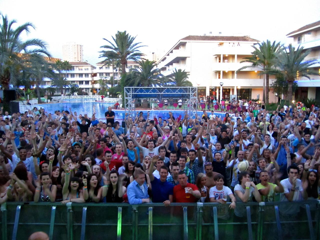 Audience, Mallorca Rocks. Palma De Mallorca, ES