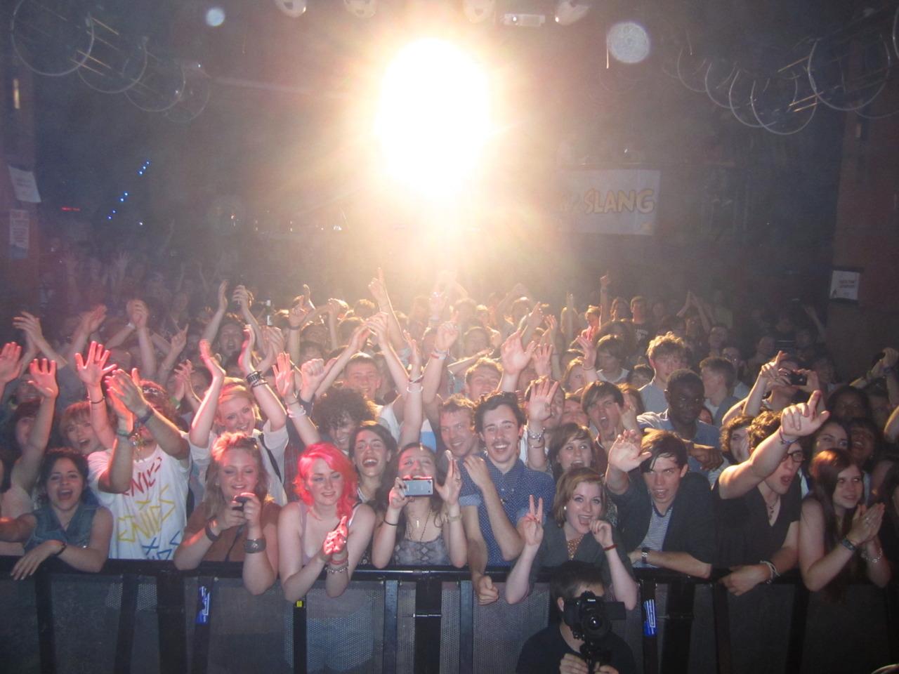 Audience, Hippodrome. Kingston, UK