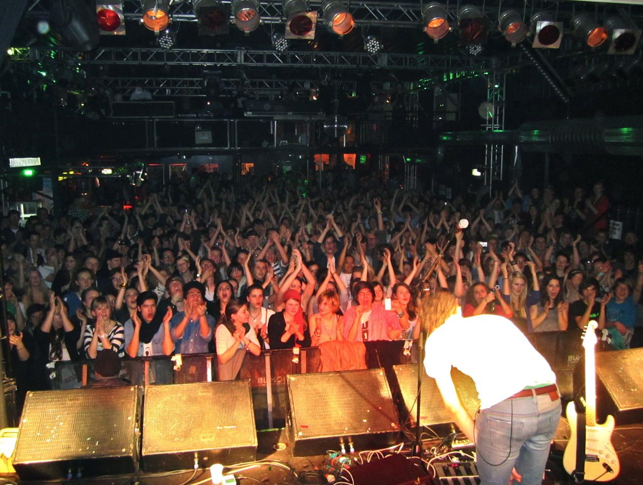 Audience, Backstage. München, Germany
