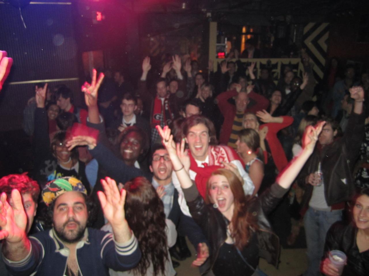 Audience, The Drunken Unicorn. Atlanta, GA