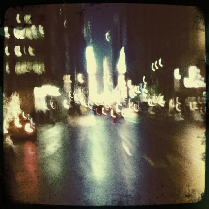 7th Ave above Times Square. NY, NY