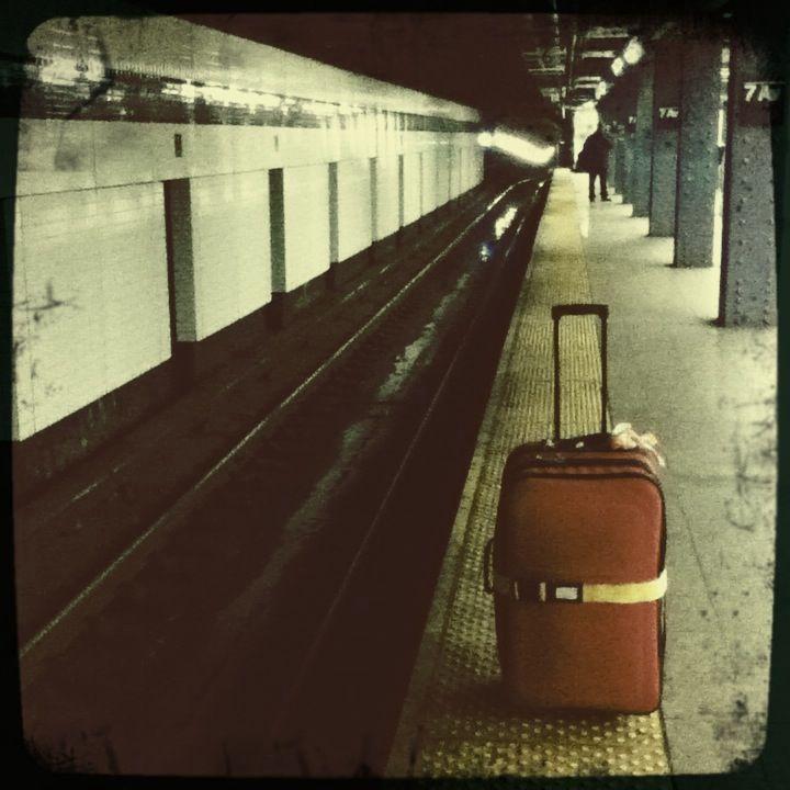 E train to LA.