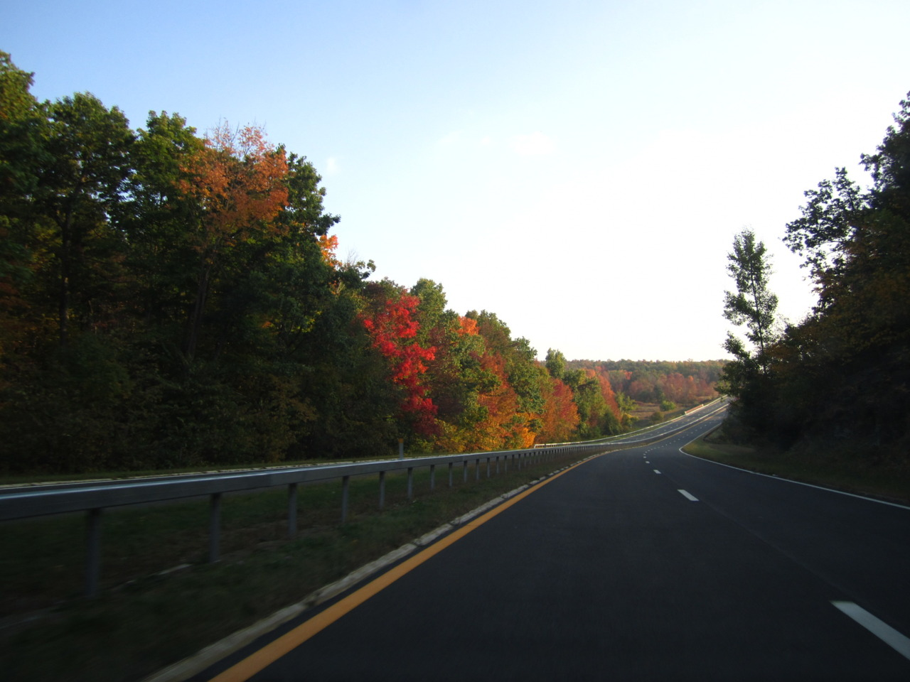 Another reason to touch home. Taconic State Parkway, NY