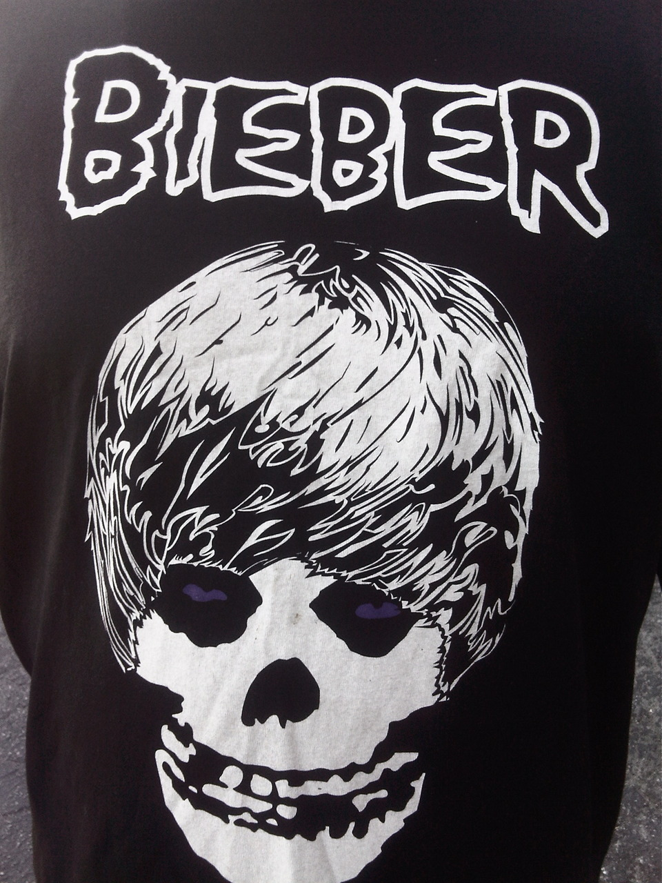 Justin Bieber crew shirt. Los Angeles, CA