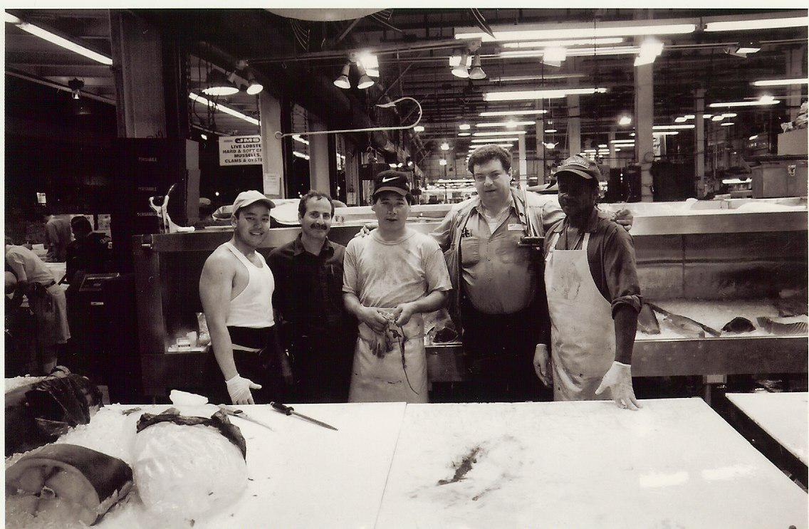 Fulton Fish Market. NYC, NY