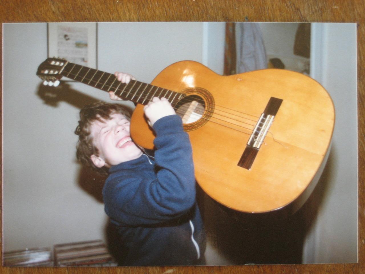 Big dreams. Joe's apartment, Boston, MAcirca 1983