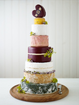 Godminster Wedding Cheese Cake