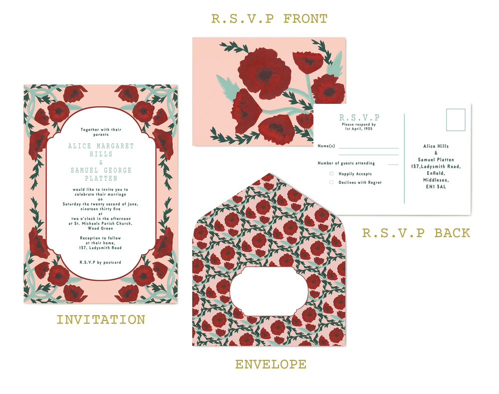Tuppence Collective invitations