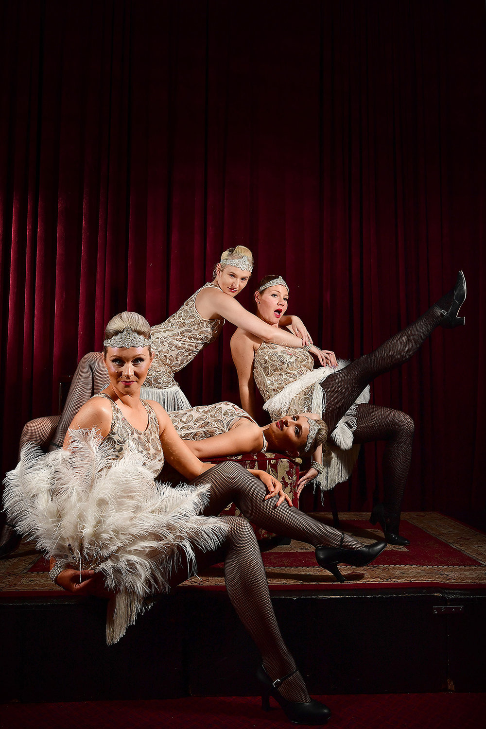CHP_Export_176945564_Burlesque dancers Marijana MacFarlane front Jaz Greaves back Erin Gold laying &.jpg