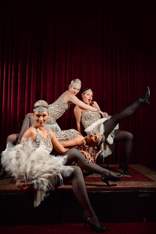 CHP_Export_176945564_Burlesque dancers Marijana MacFarlane front Jaz Greaves back Erin Gold laying &.jpg