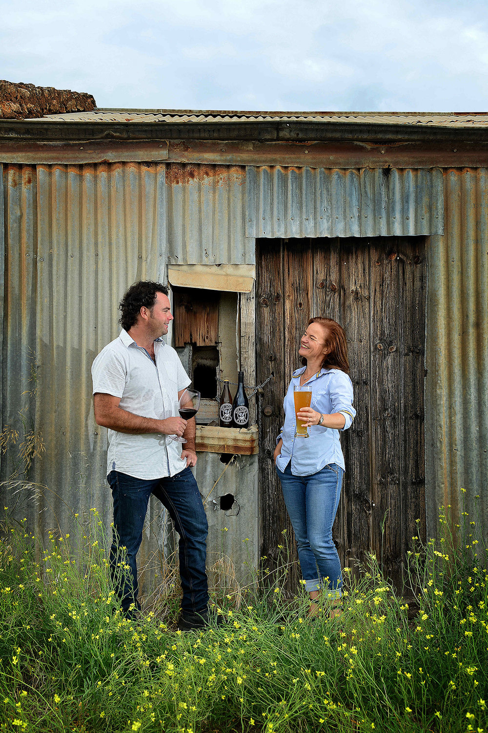CHP_Export_151216578_Winemaker Alan Varney and his wife Kathrin bought  1870s barn at Old Noarlunga.jpg