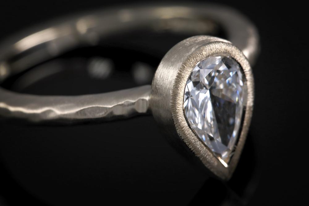 001-01131-001 - Custom Pear Engagement Ring - Detail.jpg