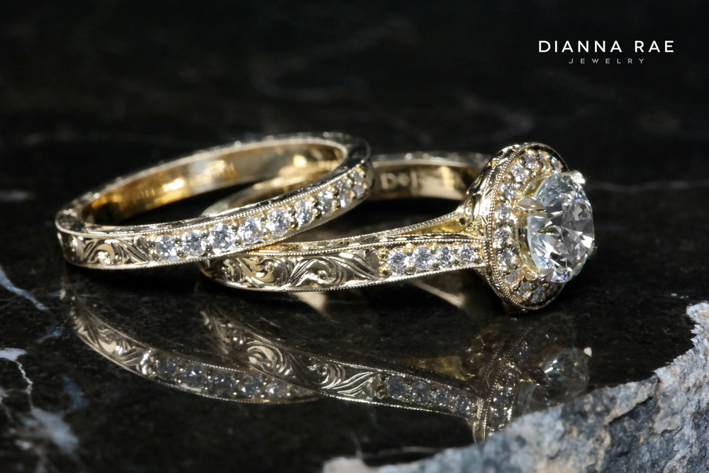 001-01770-001_Marie-Anne Breaux_Engraved YG Wedding Set_both.jpg