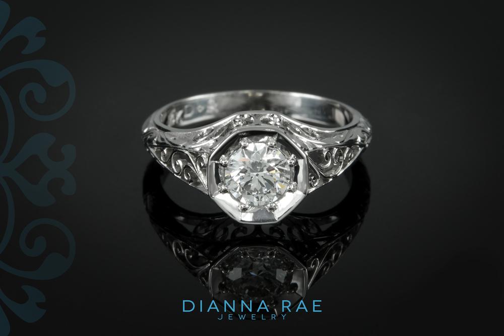 With Logo  - 001-01069-001 - Custom Engagement Ring - Down.jpg