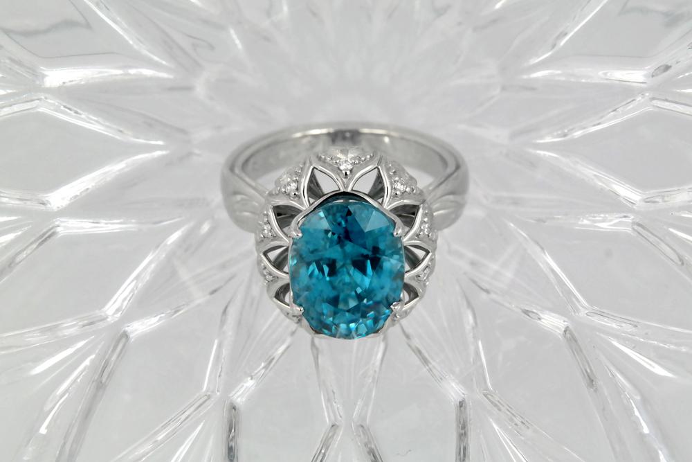 DRJ3006 - Blue Zircon Ring - Top.jpg