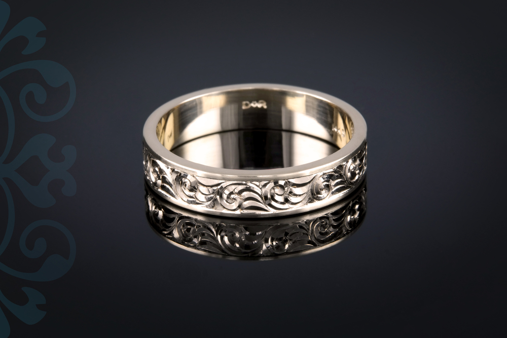 001-01111-001 - Custom Engraved Wedding Band - Down.jpg
