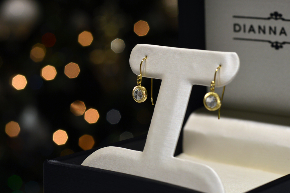 RUS2001 - Rose Cut Diamond Earrings.jpg