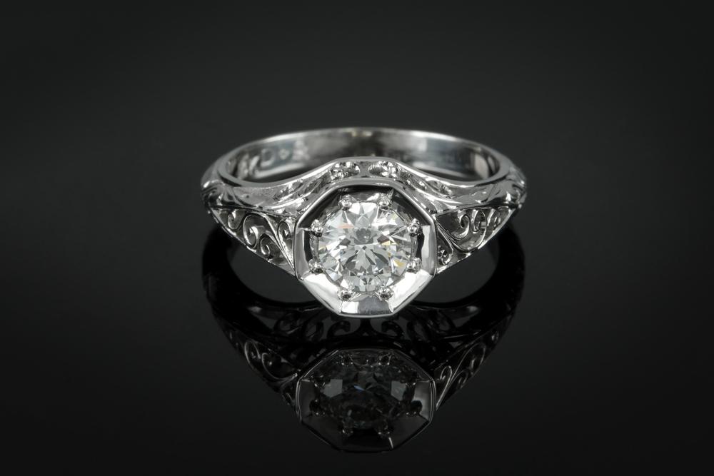 Adam Prejean With Logo  - 001-01069-001 - Custom Engagement Ring - Down no logo.jpg
