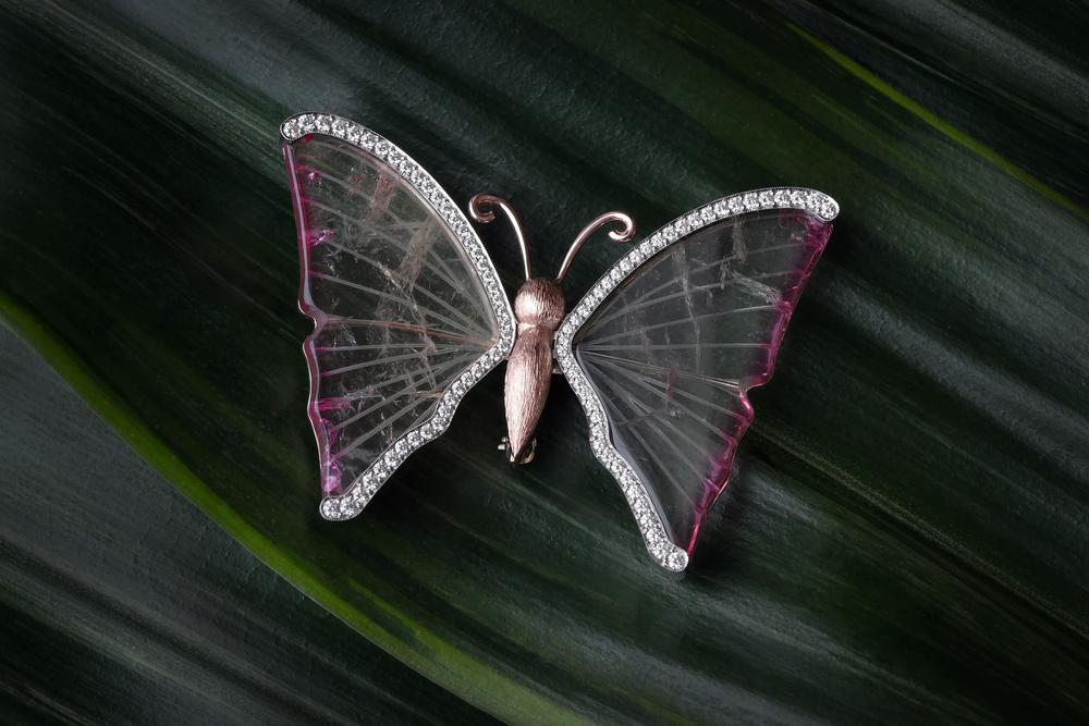 DRJ4004 - Butterfly Pin - On Leaves.jpg