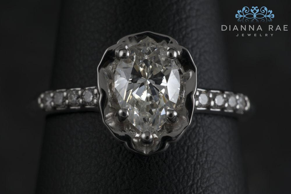 001-03001-001_Custom White Gold Pear Shaped Flower Pedal Ring_Detail.jpg