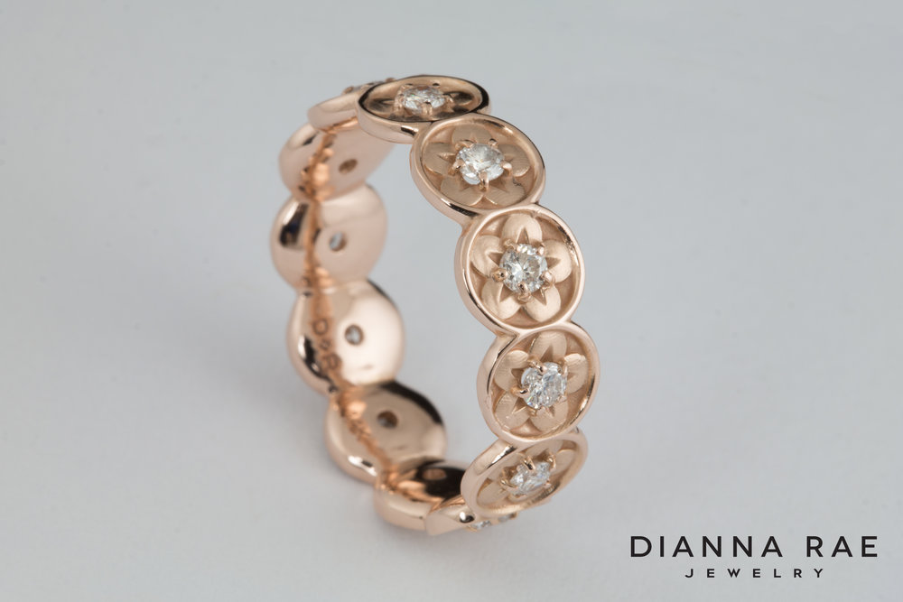 001-03016-001_Custom Stackable Diamond Flower Wedding Band_Up.jpg