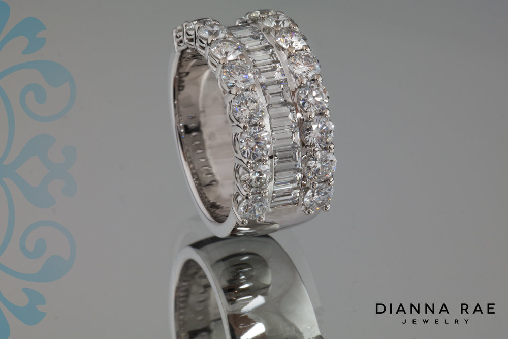 001-03352-001_Custom Diamond Ring with Rounds and Baguettes 3.jpg