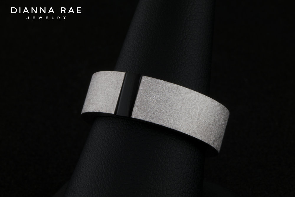 001-03196-001_White Gold Ice Wedding Band with Onyx Inlay.jpg