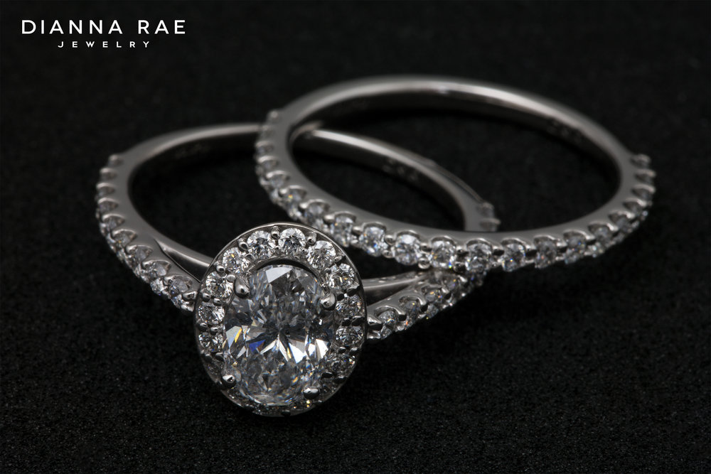 001-03273-001_Custom Diamond Halo Engagement Ring with Matching Wedding Band_2.jpg