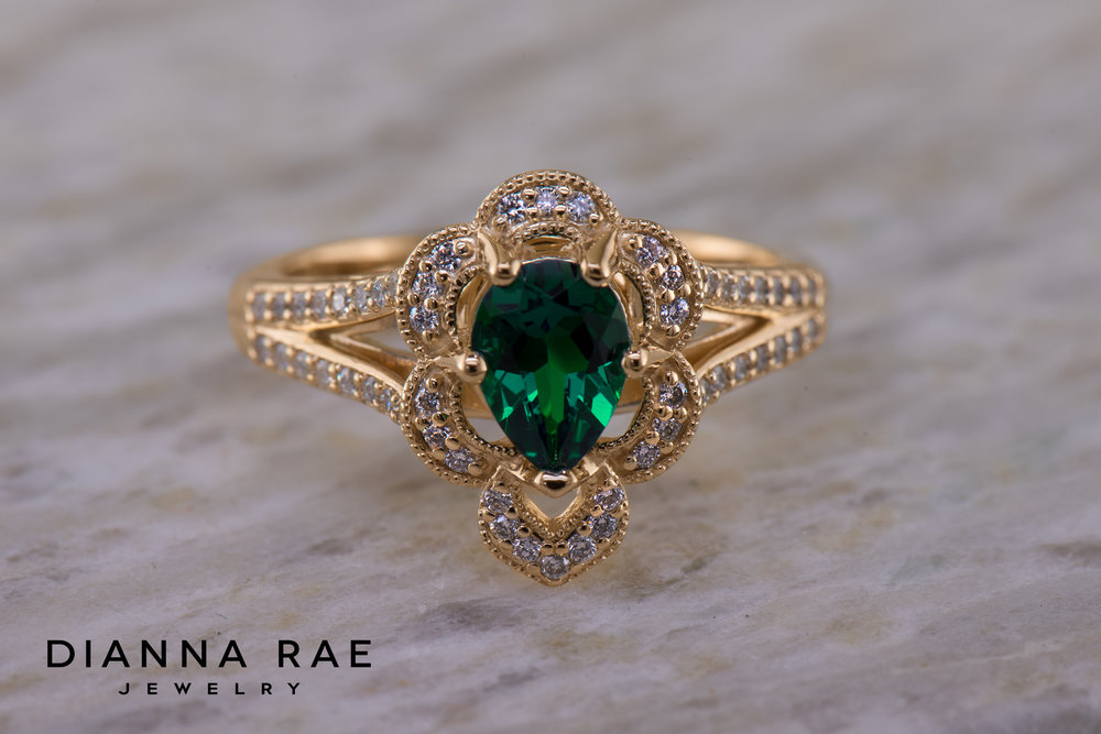 001-04155-001_Custom Emerald Class Ring with Scalloped Halo_1.jpg