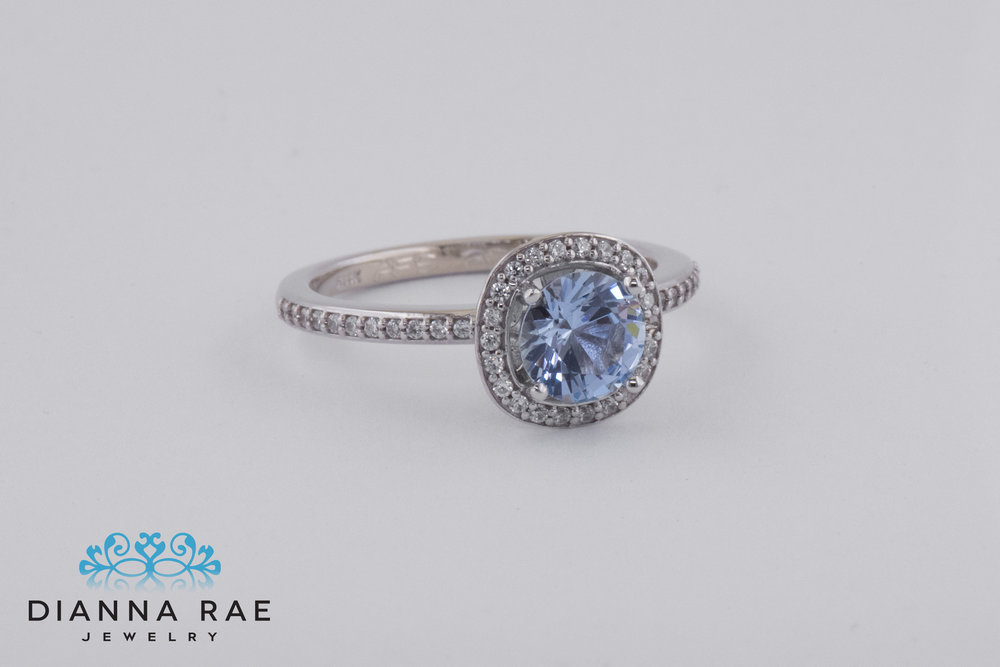 001-04212-001_Custom White Gold Class Ring with Aqua Spinel and Cubic Zirconia Accents_1.jpg