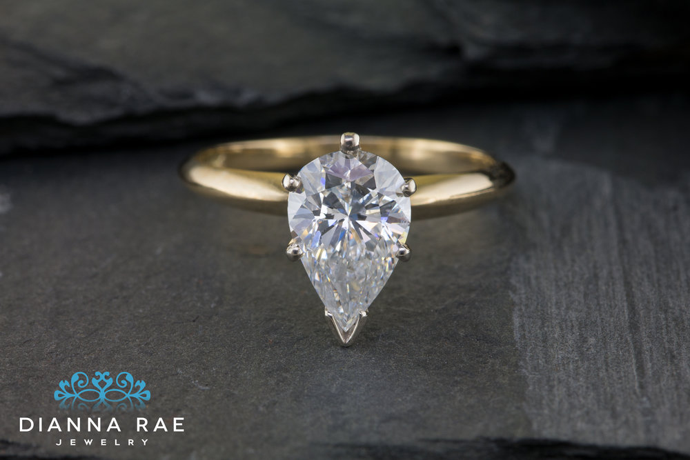001-03611-001_Custom Two-tone Solitaire with Pear Shaped Diamond.jpg