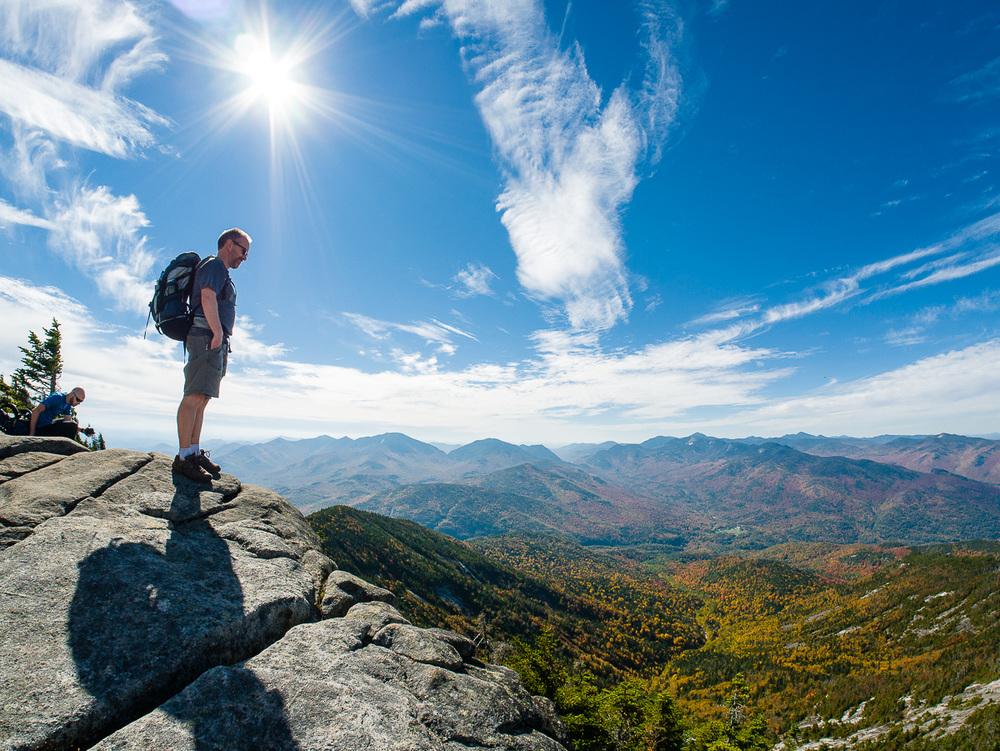 Top of Giant Mountain, Adirondacks, NY