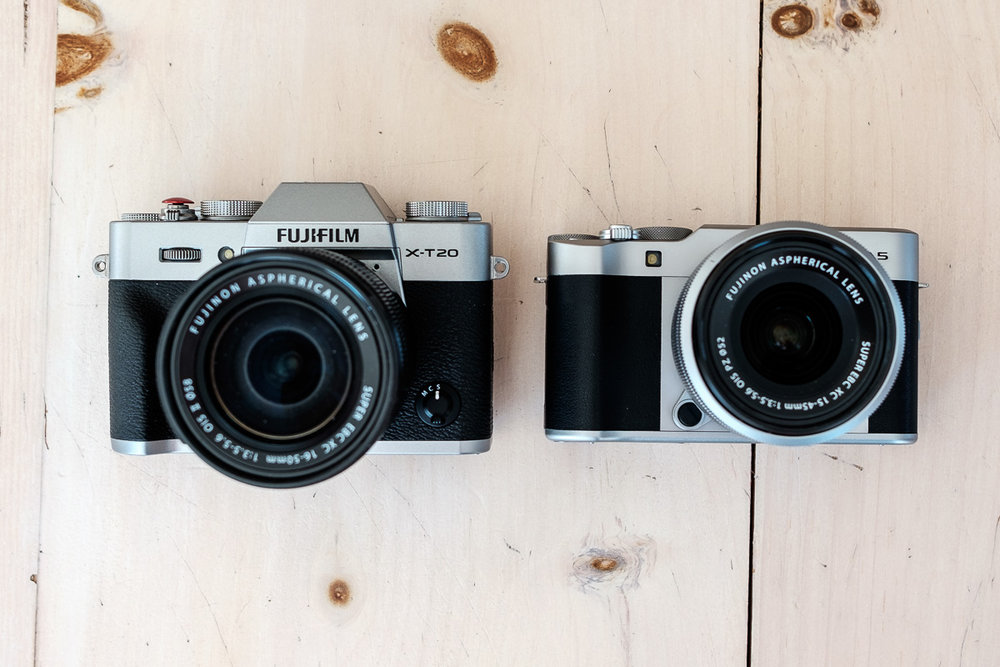 X-T20 and X-A5