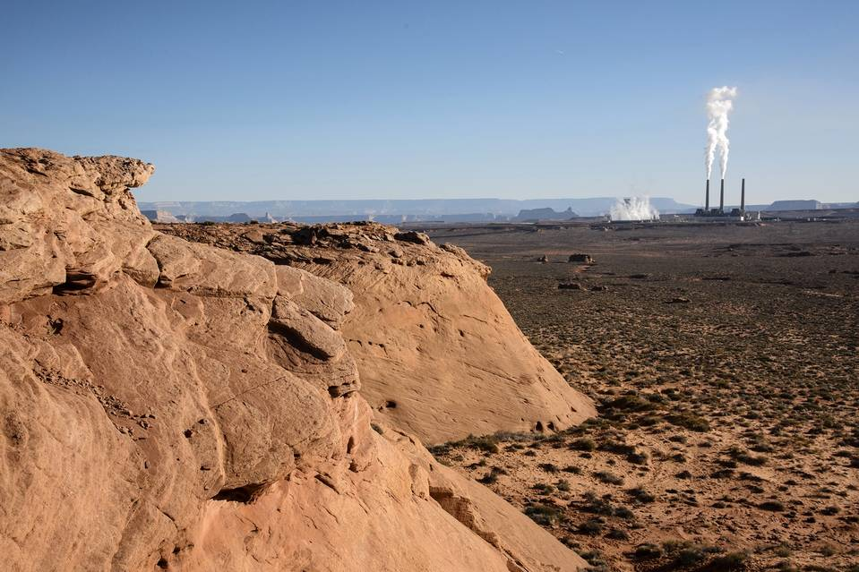 A planned partial closing at the Navajo Generating Station could cost jobs there and at a related coal mine. PHOTO: DAWN KISH FOR THE WALL STREET JOURNAL