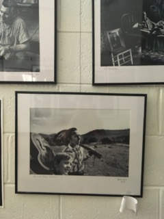 Clearfork Community Institute photo display, Eagan, TN. Photo by Katie Myers.