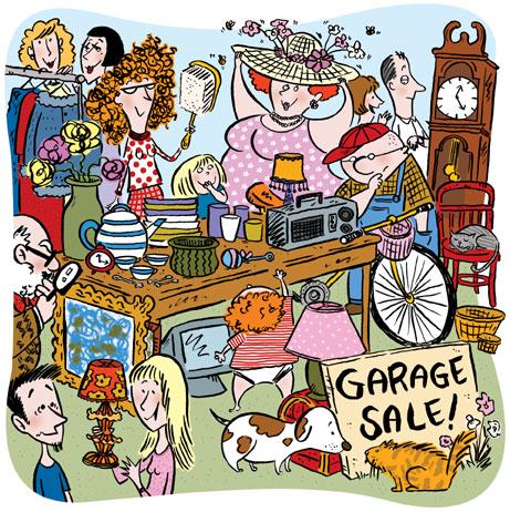 Craigslist and garage sales — VandenVogue