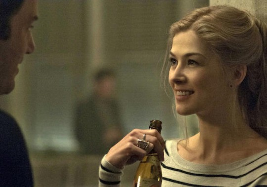 Gone Girl. I know. Totally not a lighthearted movie, but sooooooo good. I could watch this movie practically every day. So intriguing. So devious. So much blood near the end so that could either help or hurt.