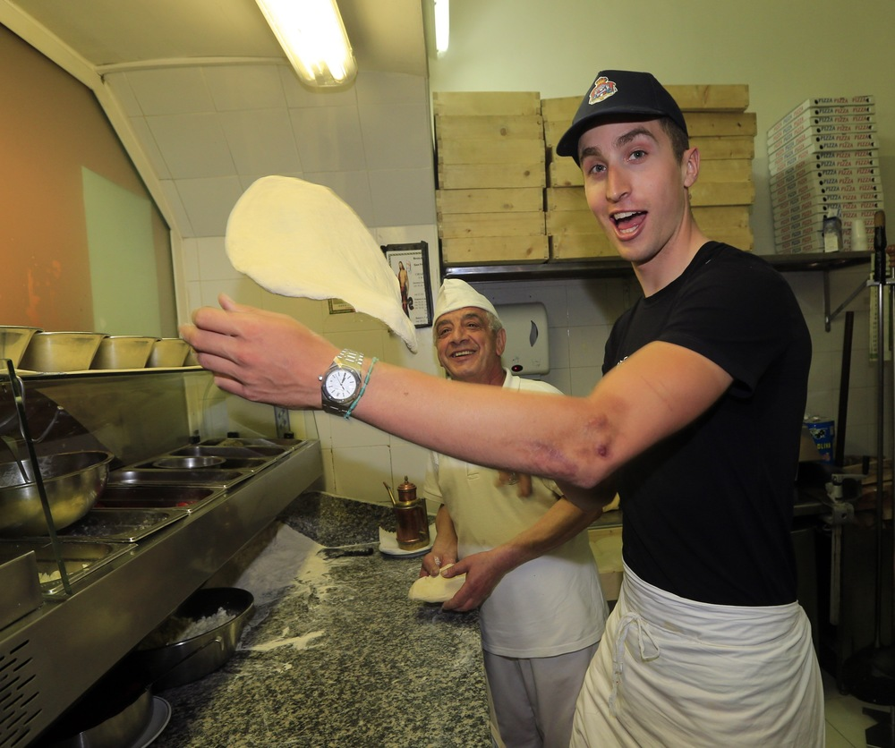 2013 Giro d'Italia: Spinning dough