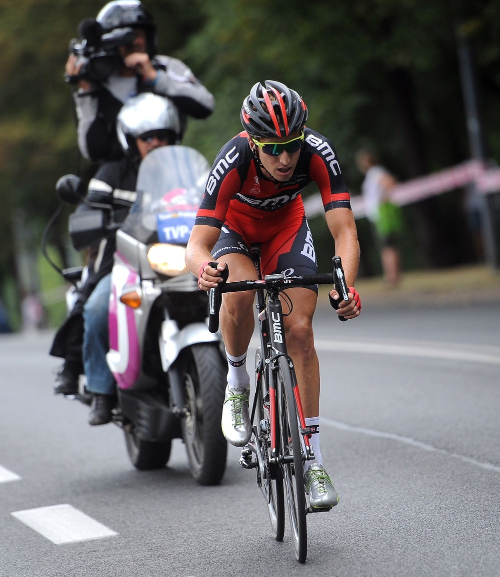 2013 Tour of Poland: attacking during stage 4.