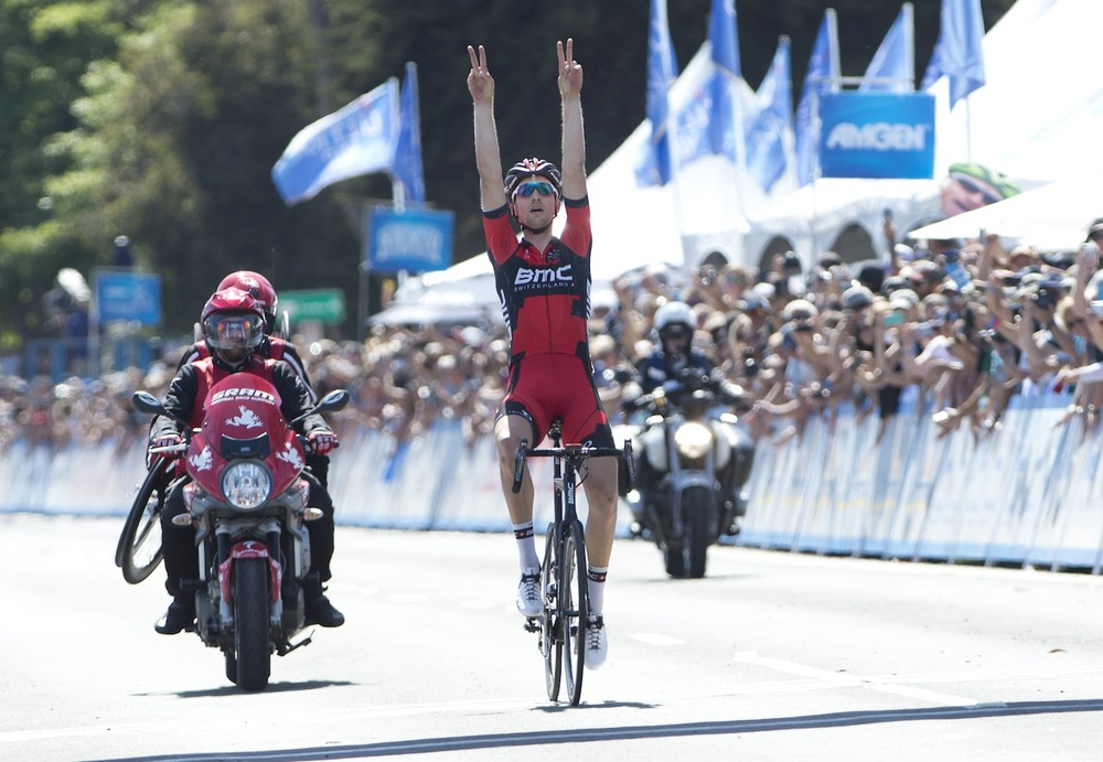 2014 Tour of California: Dedicating Stage 5 victory to late grandfather Damon Phinney.
