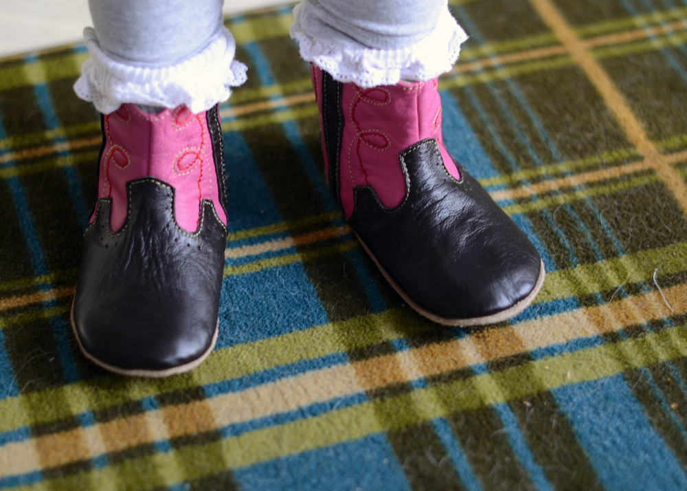 "Boots ""like Superman"""