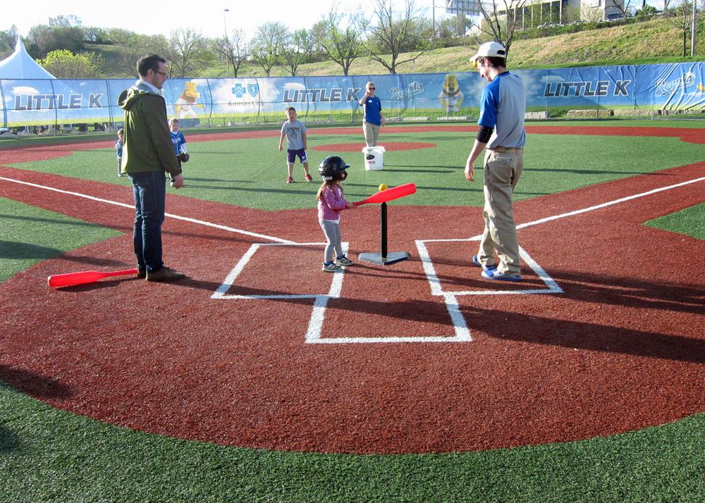 Hey, Batter Batter. At The Little K, Royals Games.