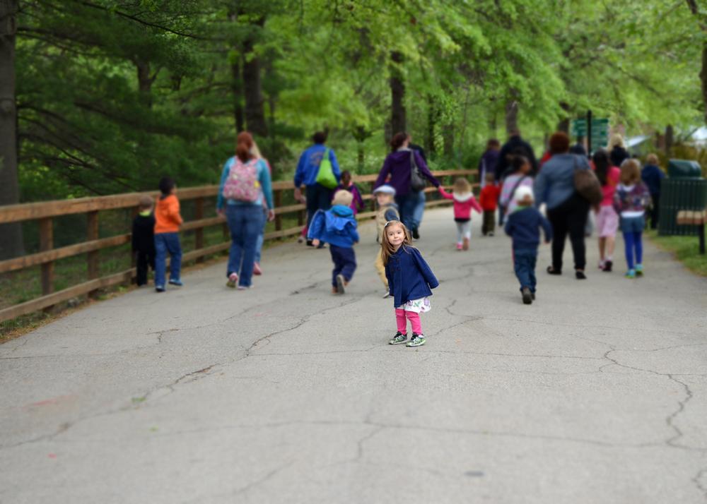 Second Field Trip, Kansas City Zoo. Hurry up, Mama.