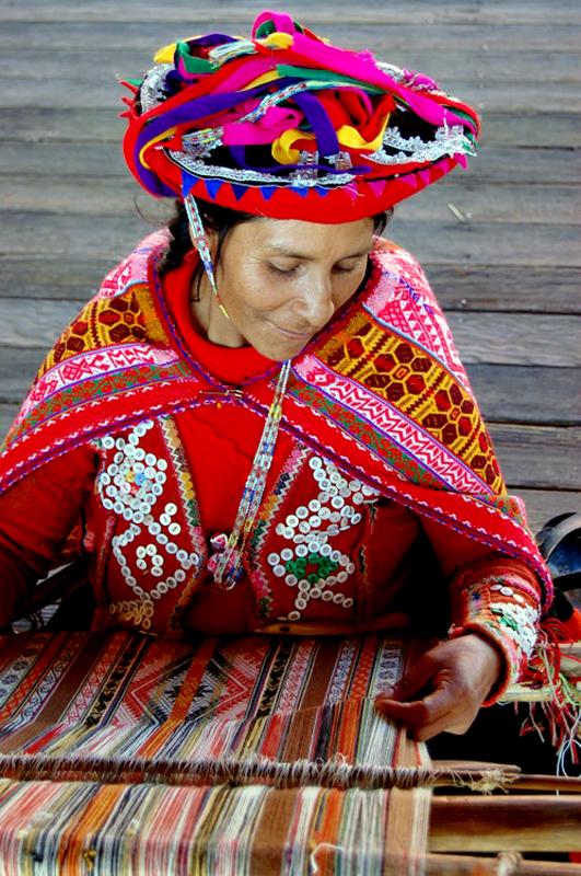 Weaver,  Arequipa, Peru