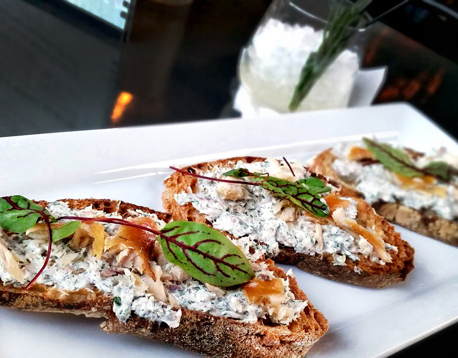Julep KC,  Smoked Trout Toast