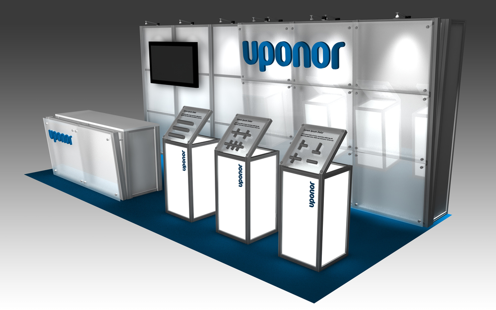 Exhibition Display Solutions : Uponor — exhibit solutions inc